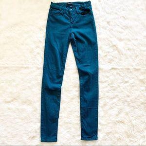 Flying monkey • skinny jeans stretch teal